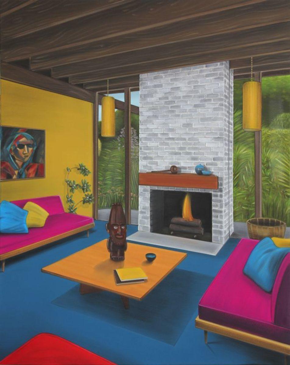 Spirit rooms (yellow II)