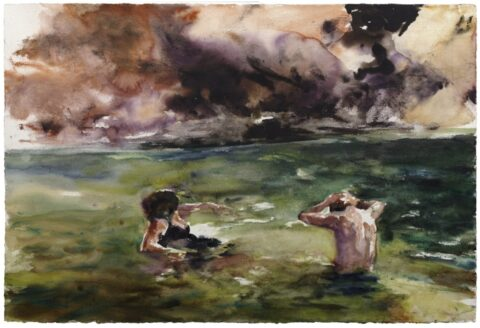 River figures (bathers)