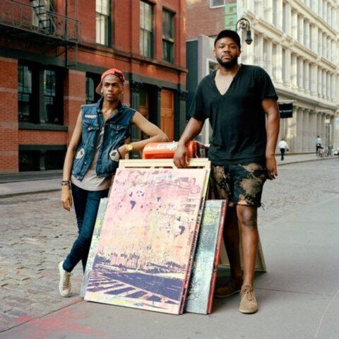 Darren, Model and Carlito, Artist, Soho, New York