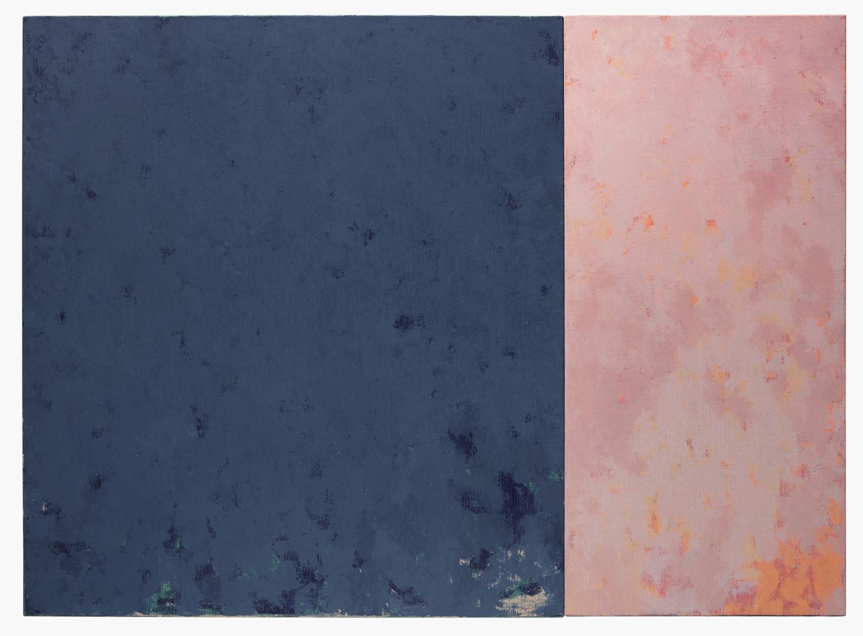 Blue wall painting III