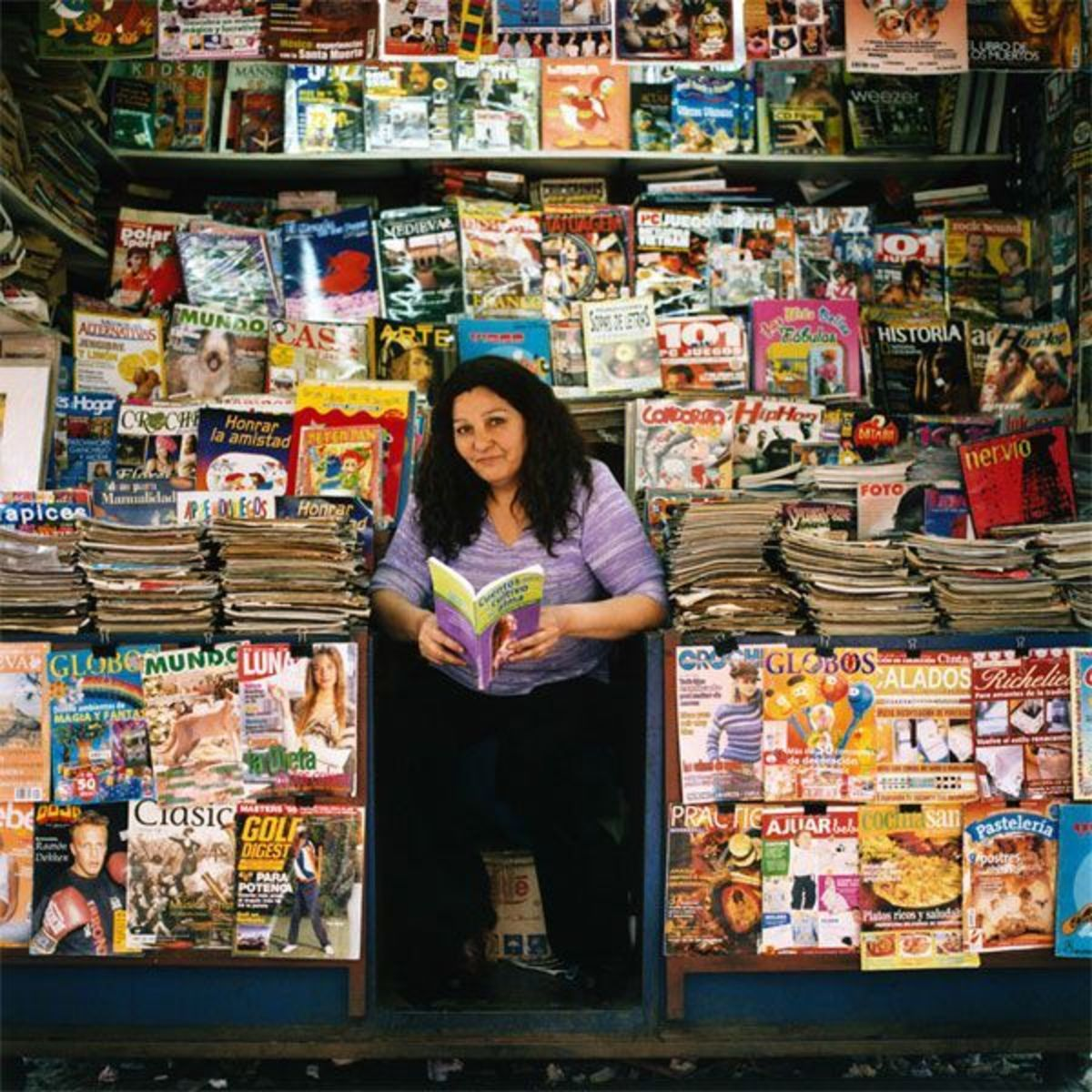 Magazine Stand, Matacuna Street, Central Station, Santiago, Chile