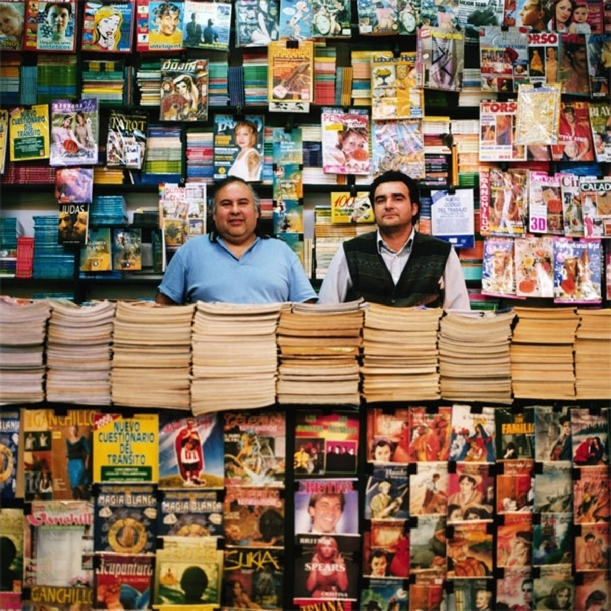 Magazine Stand, Central Station, Santiago, Chile