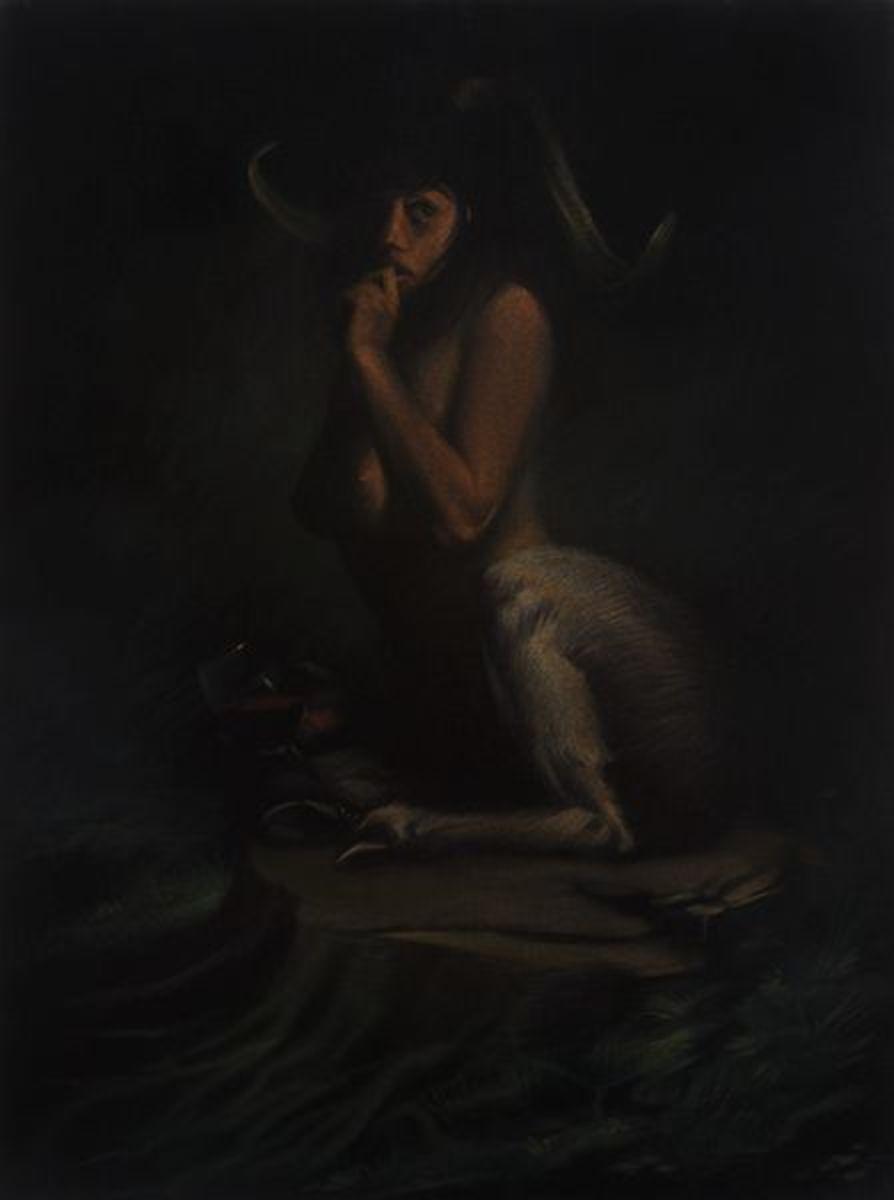 Bacchanal (Startled Satyr)
