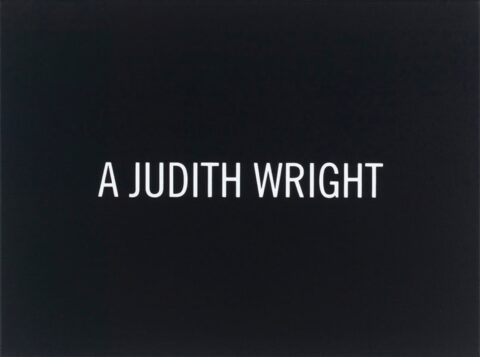 White Box: A Judith Wright