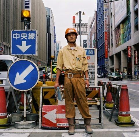 Roadworker, Shinjuku, Tokyo