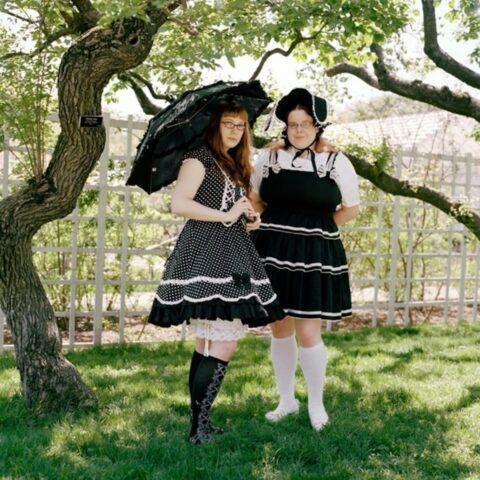 Carolyn and Janet, Lolitas, Brooklyn Botanical Garden, New York