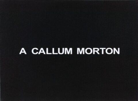 White Box: A Callum Morton