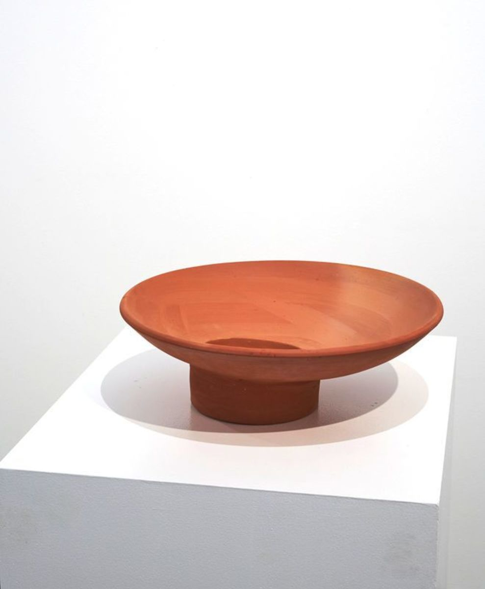 Jugaad with pottery bowl