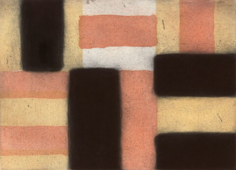 Barcelona day, 2005, aquatint, 39 x 54.5 cm