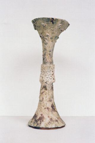 Perforated Barium Ritual Vessel