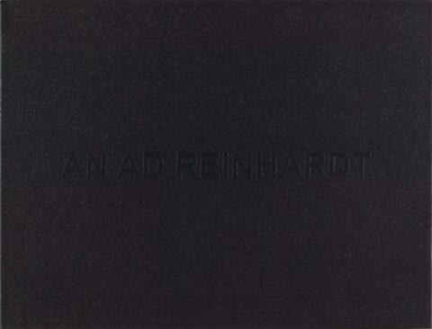 White Box: An Ad Reinhardt