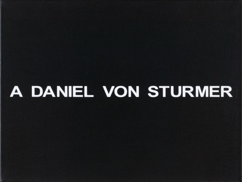 White Box: A Daniel von Sturmer