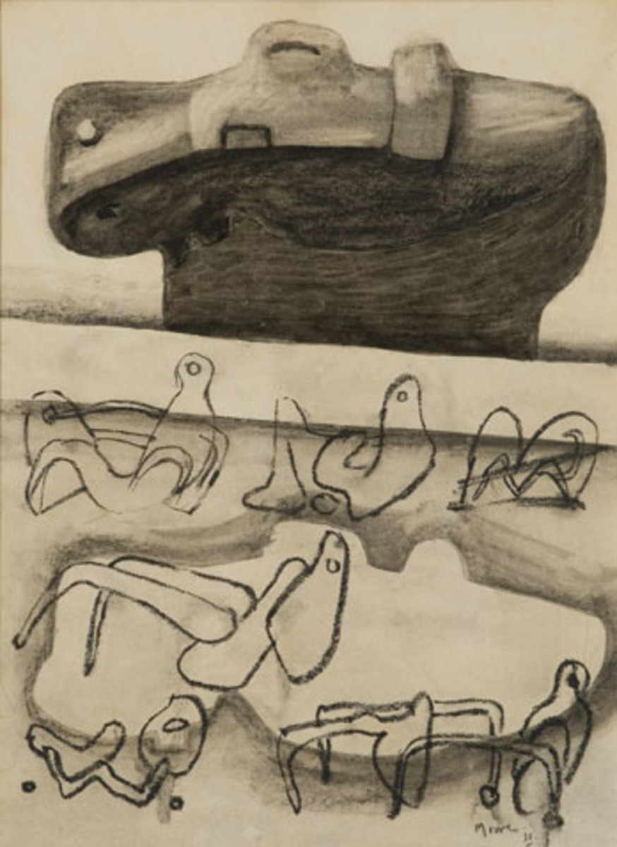 Drawing for sculpture