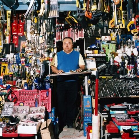 Hardware Store #2, Matucana Street, Barrio Brasil, Santiago, Chile