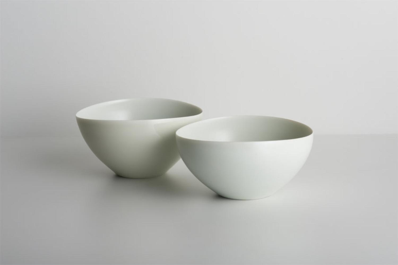 Bowls, cream/white