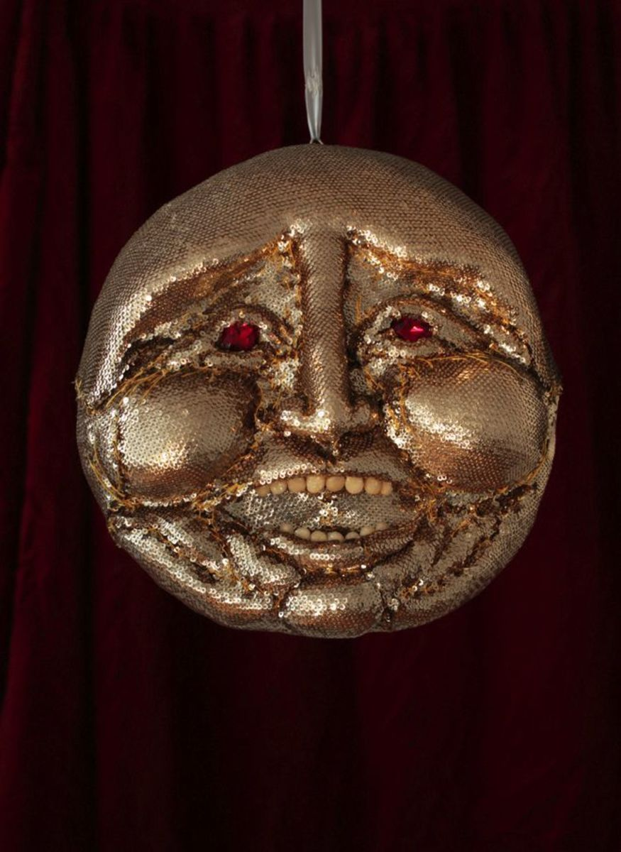 Dearly Beloved (Gold Sequin Moon Janus)