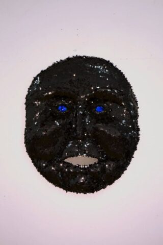 Belly of the Beast (Black Sequin Mask)