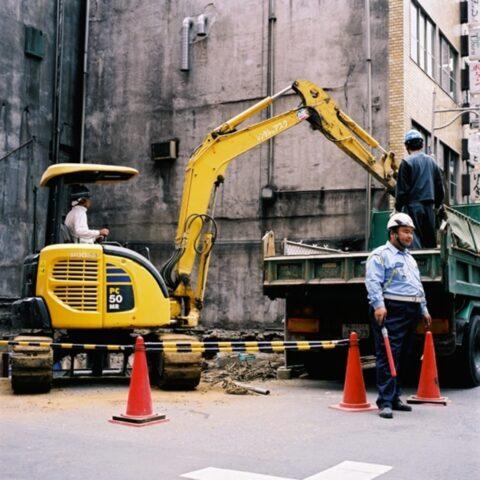 Building Construction Site, Shinjuku, Tokyo, edition 1/8
