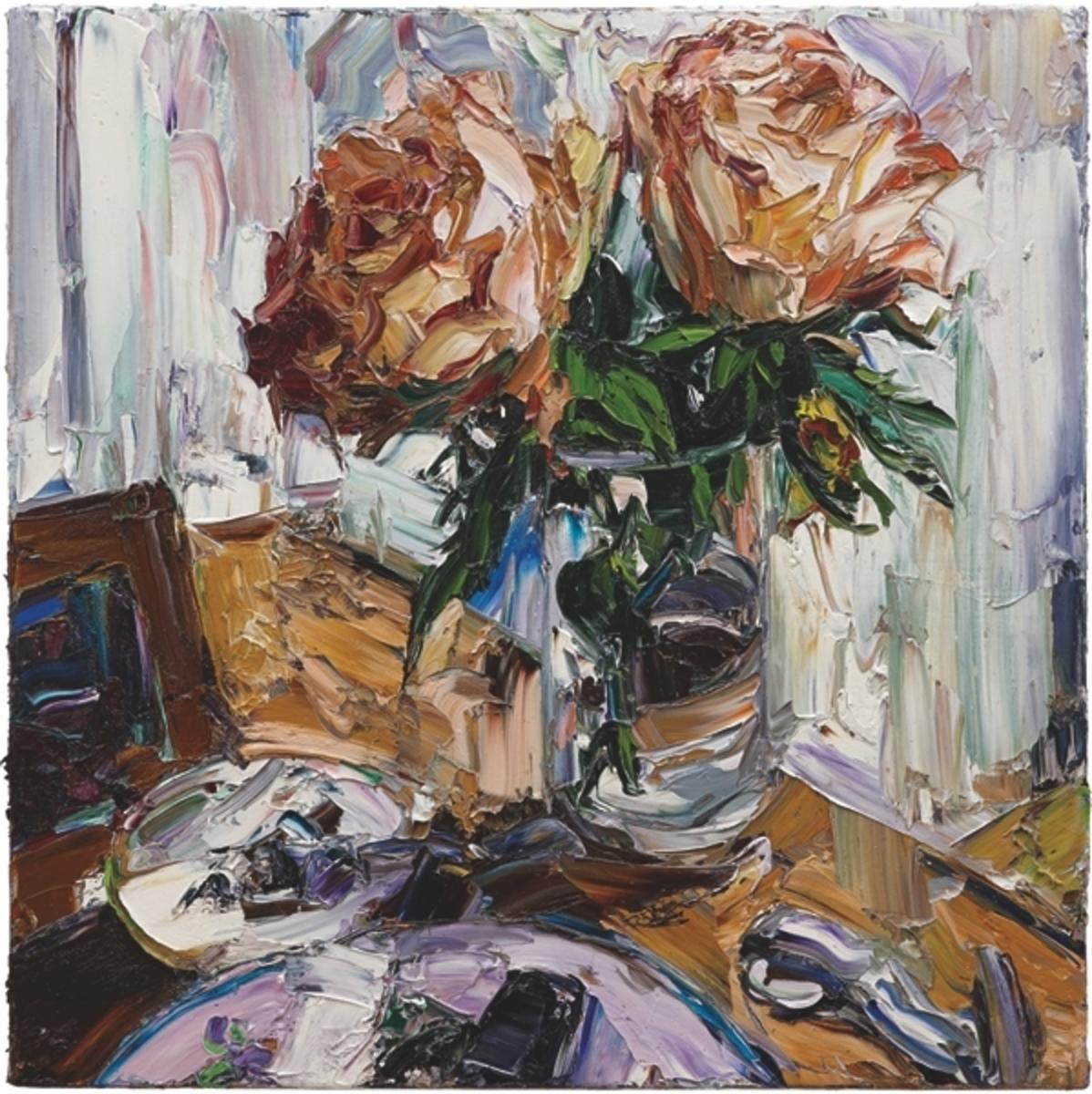 Paris still life (two roses)