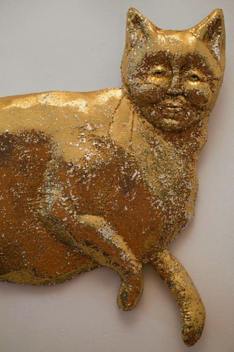 Belly of the Beast (Gold Feline)