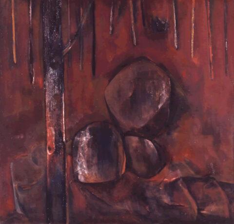 Saplings and rocks, Mittagong
