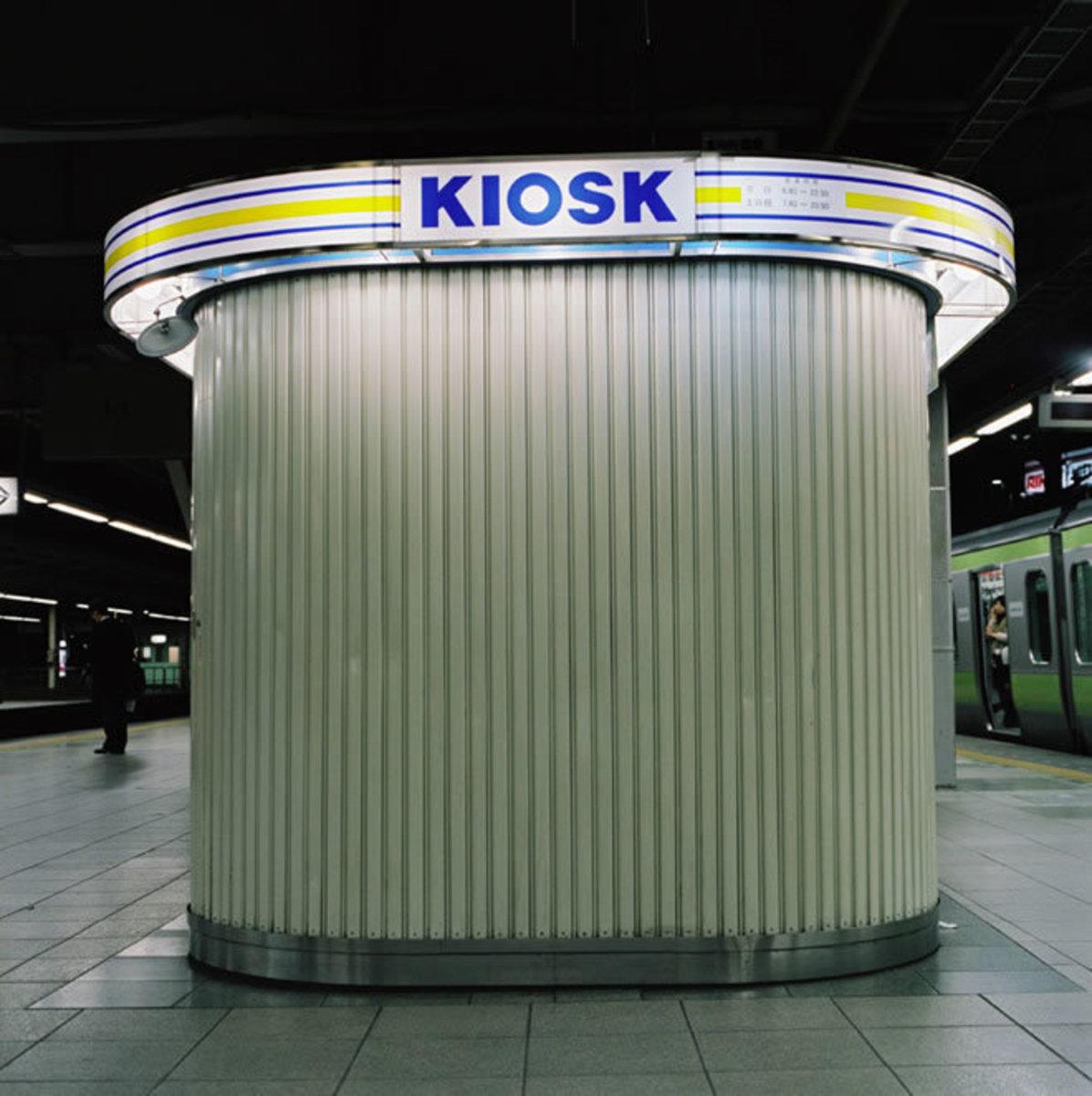 After Hours Kiosk, Shinagawa Station, Tokyo, 2005