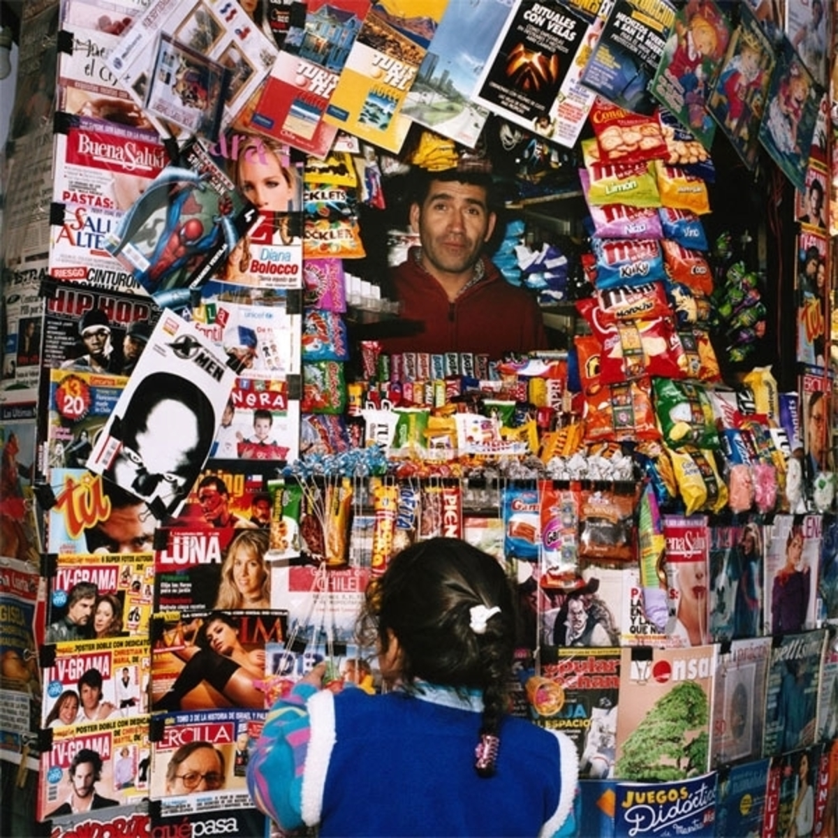 Kiosk, Mercado Central, Santiago, Chile