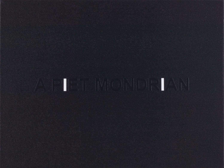 White Box: A Piet Mondrian