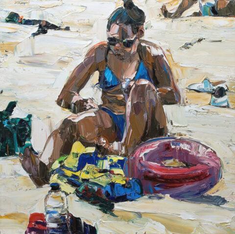 Beach Life (UV cream and swim ring)