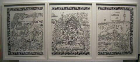 Alexandra Avenue triptych 1