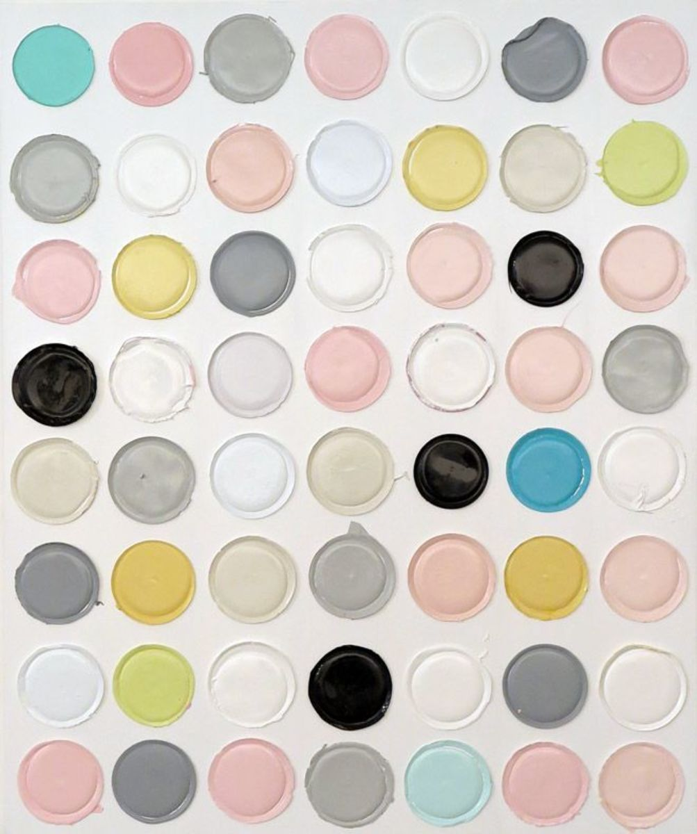 Untitled (dot painting #8)