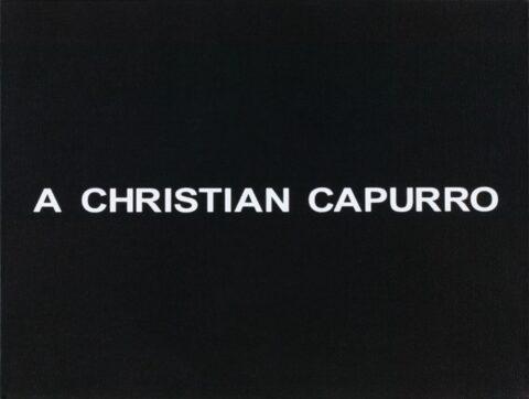 White Box: A Christian Capurro