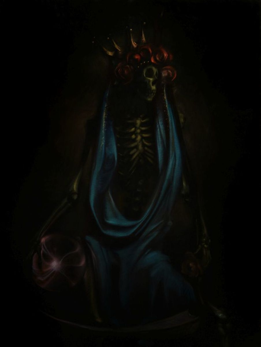 Can't get Santa Muerte (out of my head)