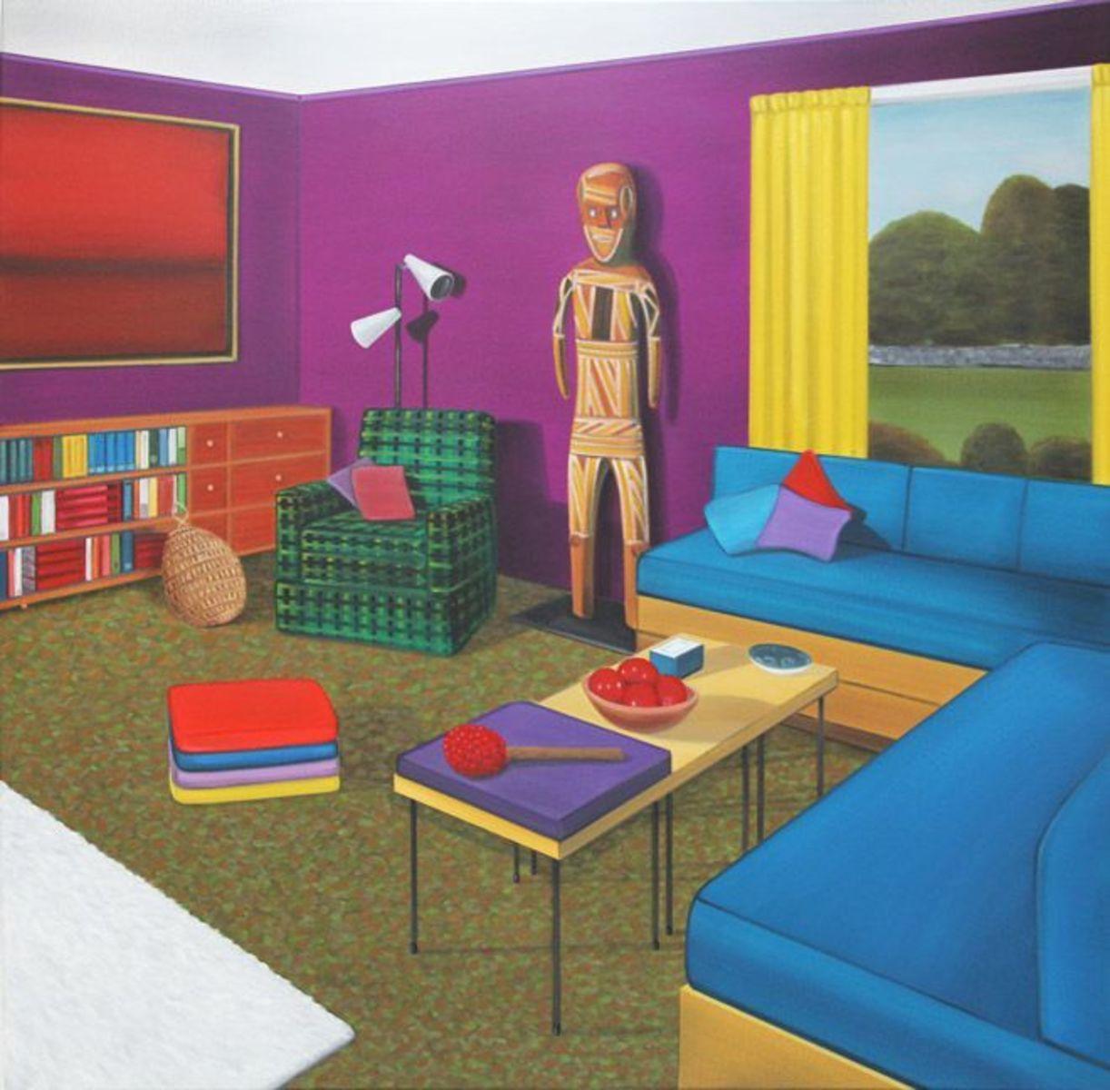 Spirit rooms (purple)