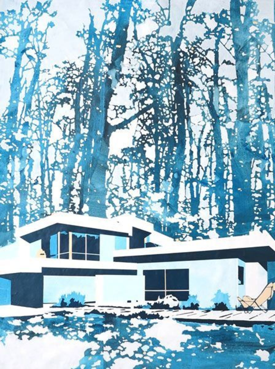 Home trees (blue)