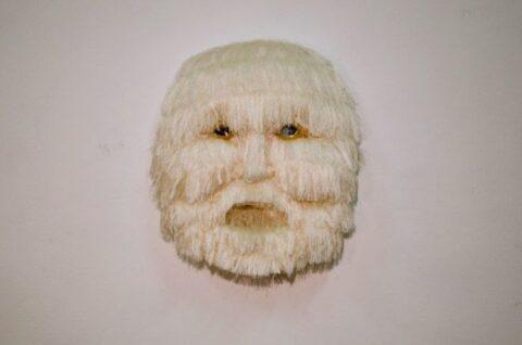 Belly of the Beast (White Fringe Mask)
