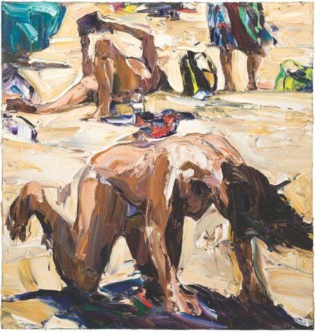 Beach life (three figures and board bag)
