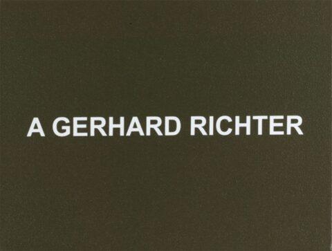 White Box: A Gerhard Richter