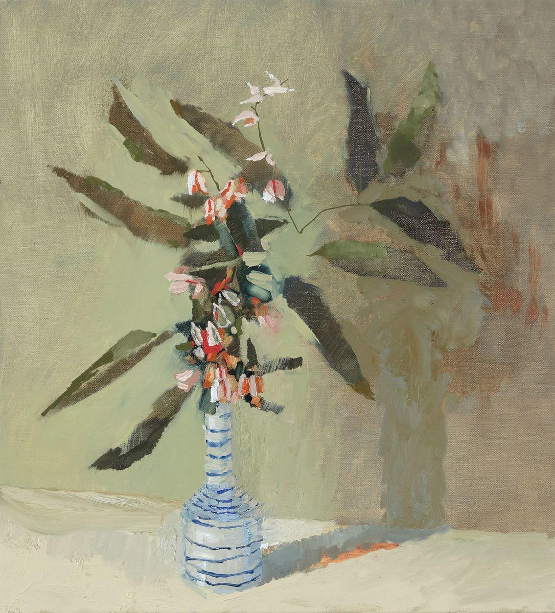 Jasmine in a vase