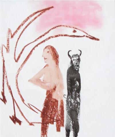 Leda, Swan and Minotaur