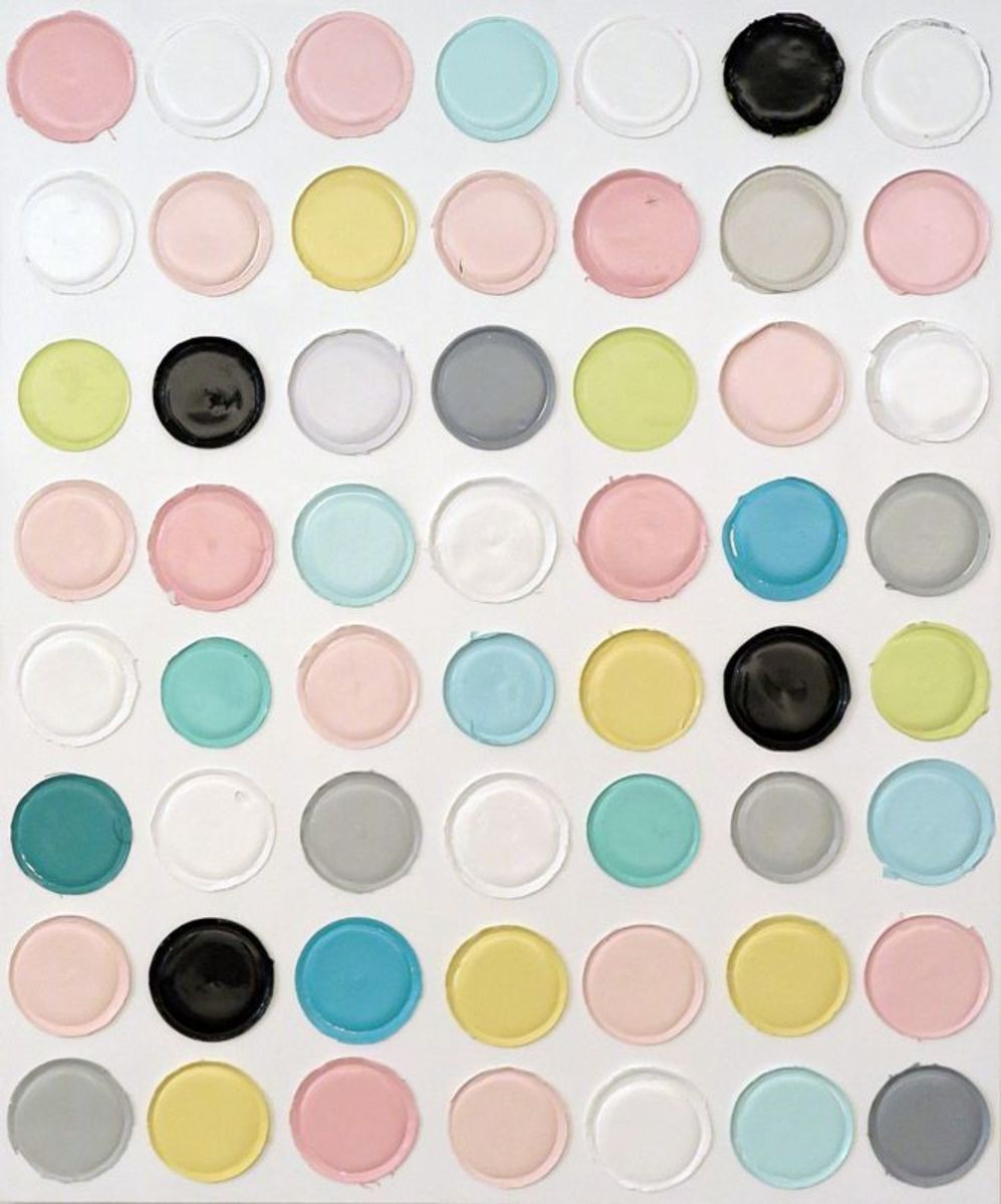 Untitled (dot painting #7)