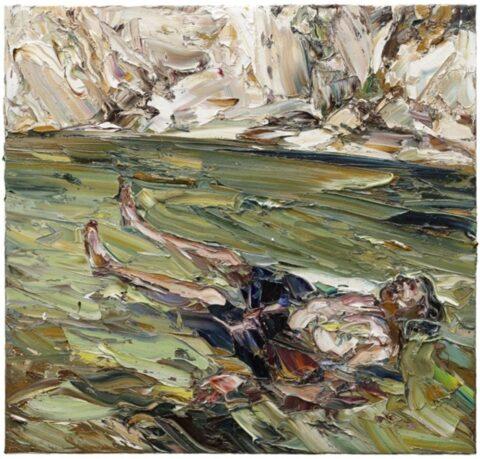 Floating estuary man