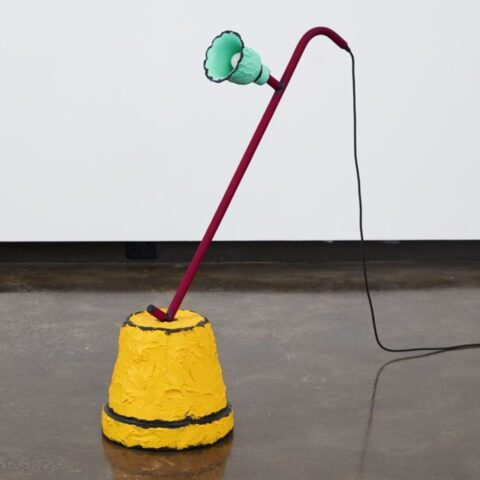 Pot plant floor lamp