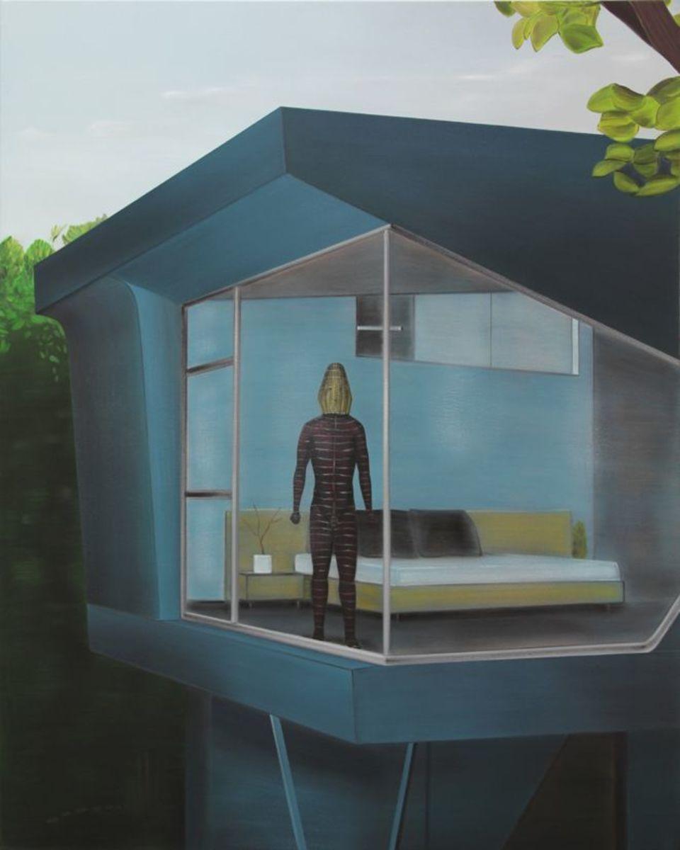 Spirit rooms (blue II)