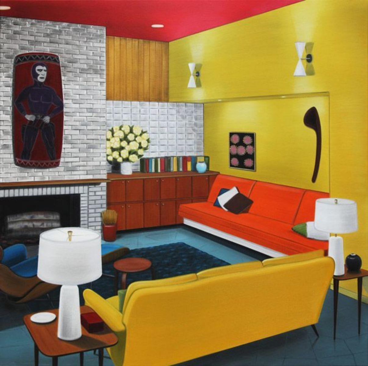 Spirt rooms (yellow)